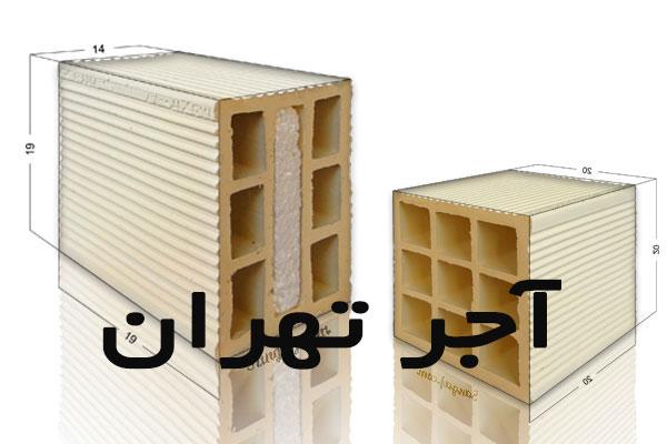 قیمت آجر تهران
